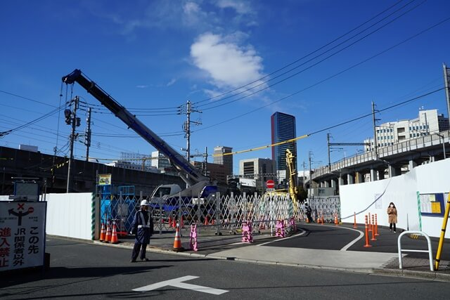 高輪ゲートウェイ駅 2020.3.16