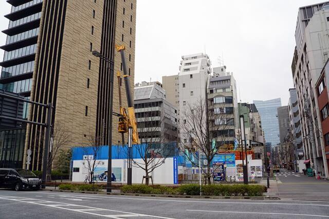 (仮称)新橋4丁目計画新築工事 2020.3.7