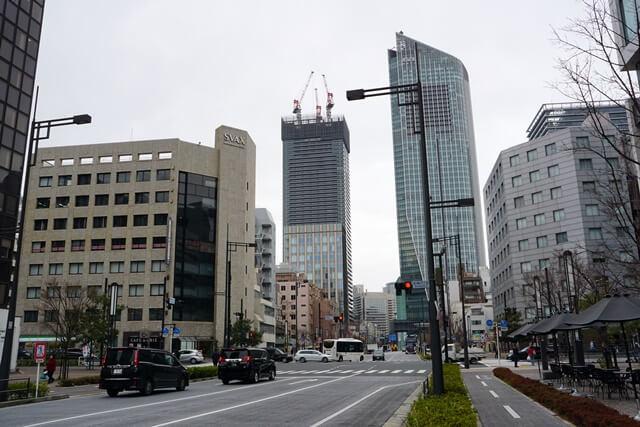 新虎通り(環状二号線) 2020.3.7