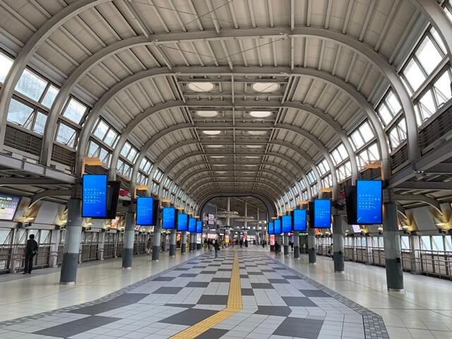 品川駅 東西自由通路 2020.4.5