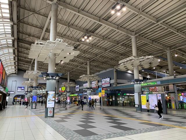 品川駅 改札付近 2020.4.5