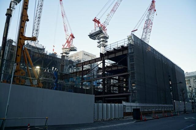 八重洲二丁目北地区市街地再開発 2020年3月下旬