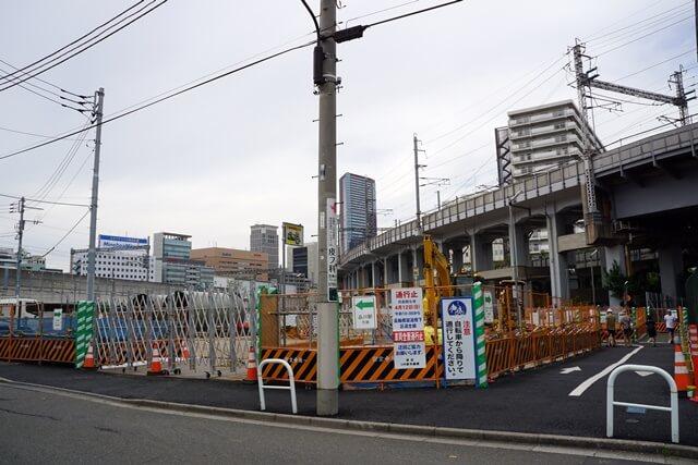 高輪橋架道橋 2020.5.3
