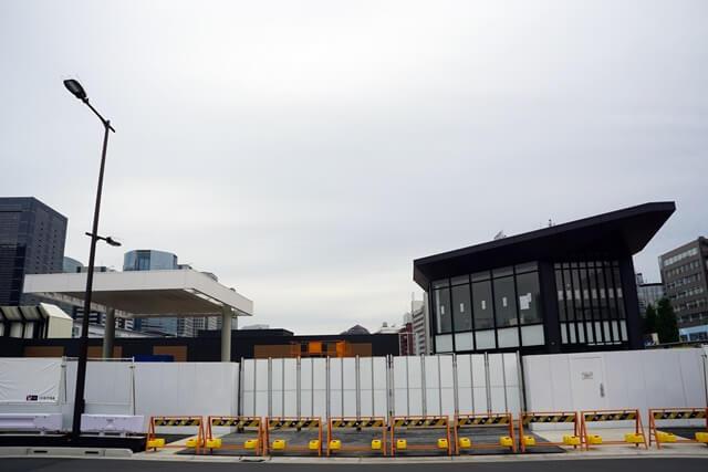 高輪ゲートウェイ駅周辺 2020.5.3