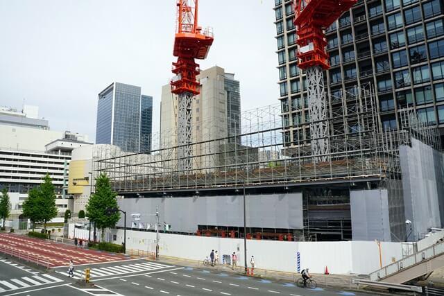 芝五丁目複合施設新築工事 2020.5.3