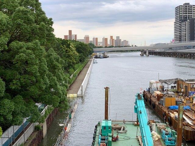 京浜運河防波堤建設工事 2020.6.20