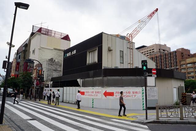 御茶ノ水駅改良工事 2020.6.28
