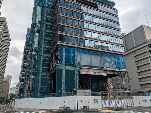 新橋田村町地区市街地再開発事業 2020.7.5