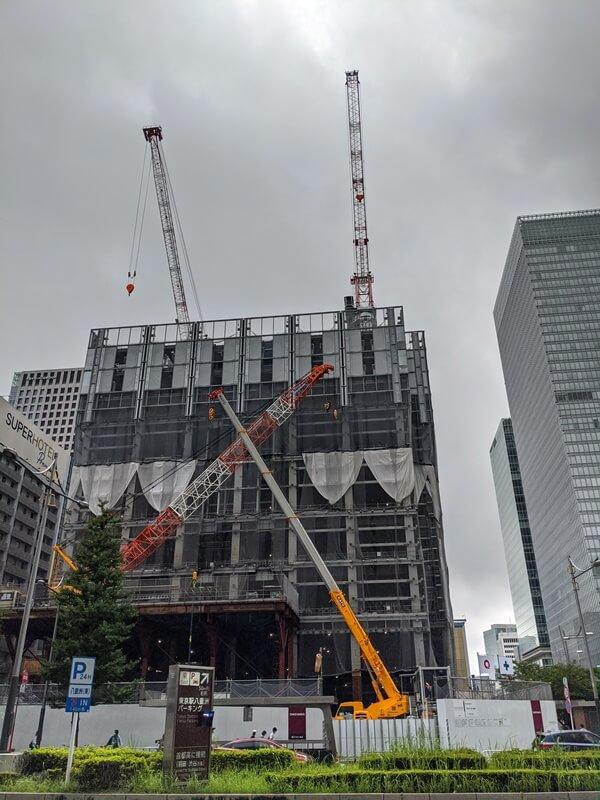 八重洲二丁目北地区市街地再開発 2020.7.25