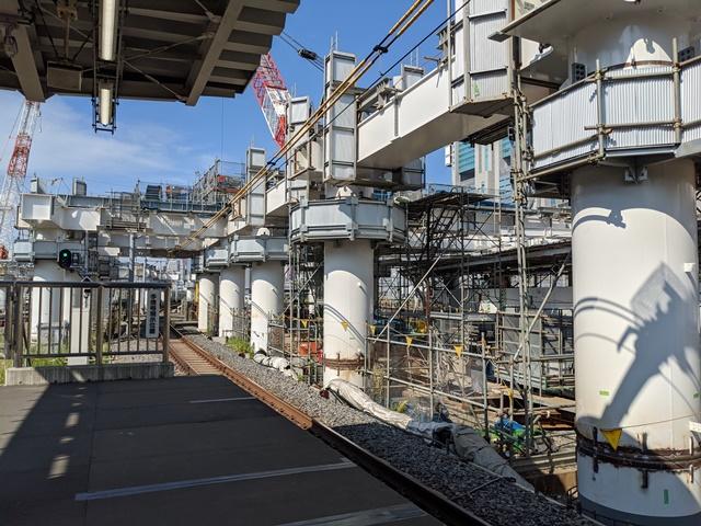 JR品川駅改良工事 2020.8.22