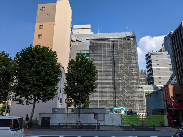 (仮称)大和地所レジデンス西新宿3丁目計画 2020.8.22