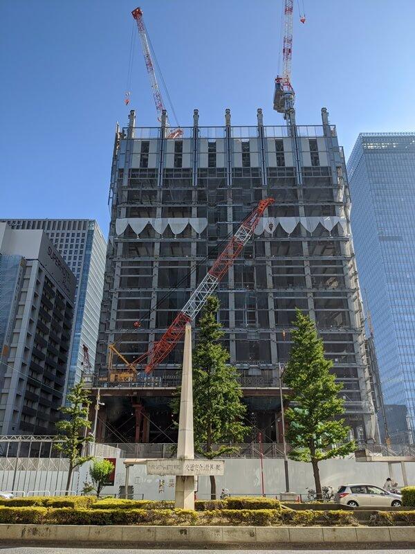 八重洲二丁目北地区市街地再開発 2020.8.29