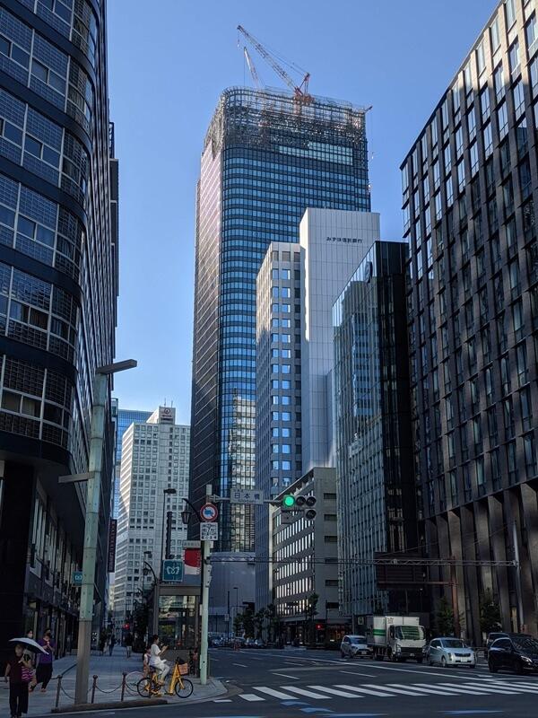 大手町二丁目常盤橋地区第一種市街地再開発事業A棟 2020.8.29
