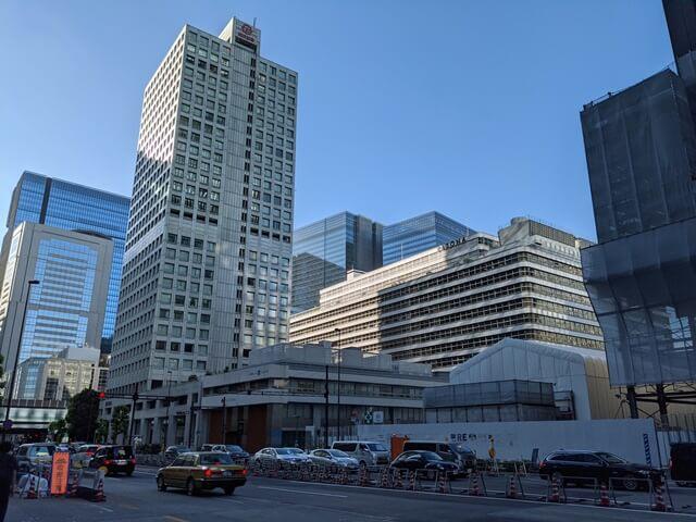 大手町二丁目常盤橋地区第一種市街地再開発事業B棟 2020.8.29