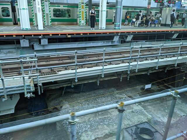 渋谷駅改良工事 2020.9.12