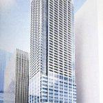 浜松町二丁目地区第一種市街地再開発事業 イメージ図(出典:建設工業新聞)