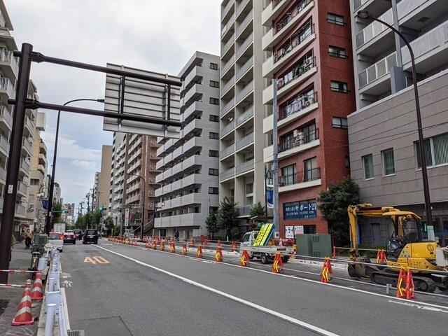 補助26号線 武蔵小山駅付近 2020.9.22