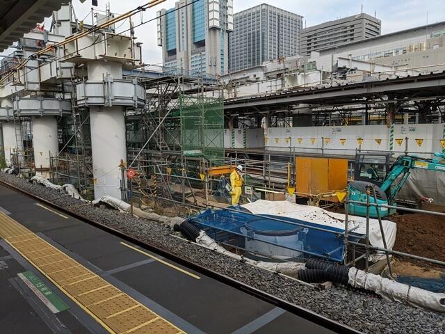 JR品川駅改良工事 2020.10.3