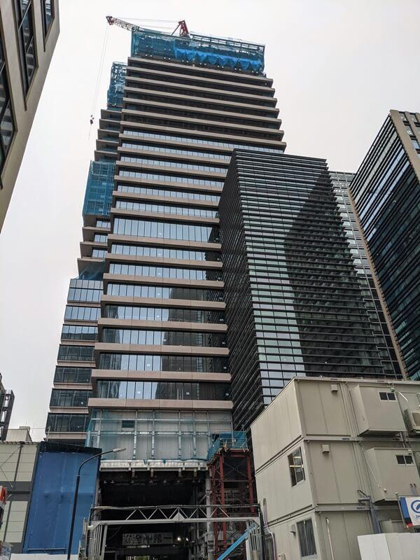 新橋田村町地区市街地再開発事業 2020.10.3