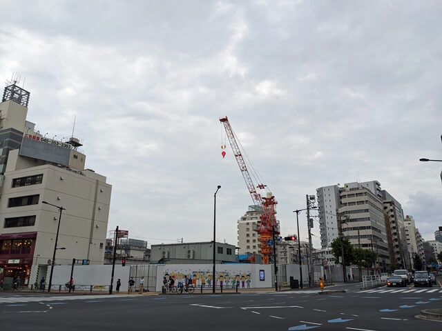 五反田計画(仮称)(ゆうぽうと跡地) 2020.10.4