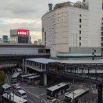 JR渋谷駅西口歩行者デッキ 2020.11.7