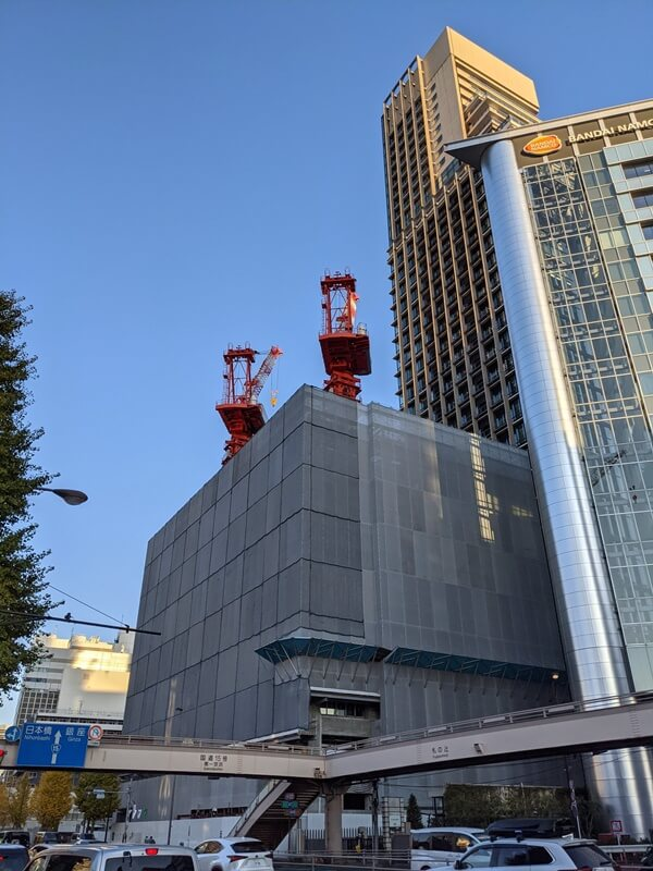 芝五丁目複合施設新築工事 2020.12.6