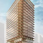 日本橋木造高層ビル計画 (出典:三井不動産)
