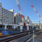JR品川駅改良工事 2021.1.31