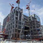 (仮称)虎ノ門ヒルズステーションタワー 2021.9.23