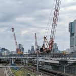 JR品川駅改良工事 2021.9.26